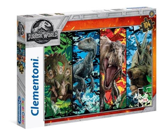 Clementoni Puzzle 104el Jurassic World 2 27099 (27099 CLEMENTONI)