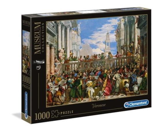 Clementoni Puzzle 1000el Le nozze di Cana 39391 p6, cena za 1szt. (39391 CLEMENTONI)