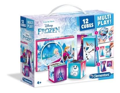 Clementoni Klocki obrazkowe 12el Multiplay Frozen 41503 (41503 CLEMENTONI)