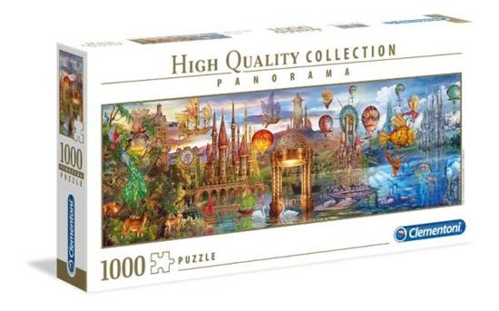 Clementoni Puzzle 1000el Panorama HQC Fantasy 39424 p6, cena za 1szt. (39424 CLEMENTONI)