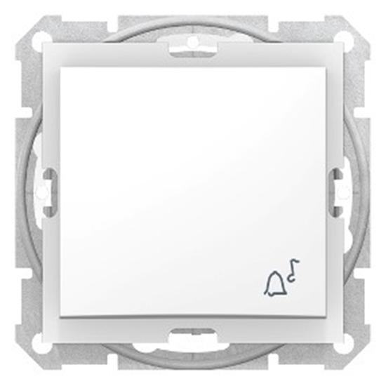Sedna Przycisk /dzwonek/ IP44 biały SDN0800321