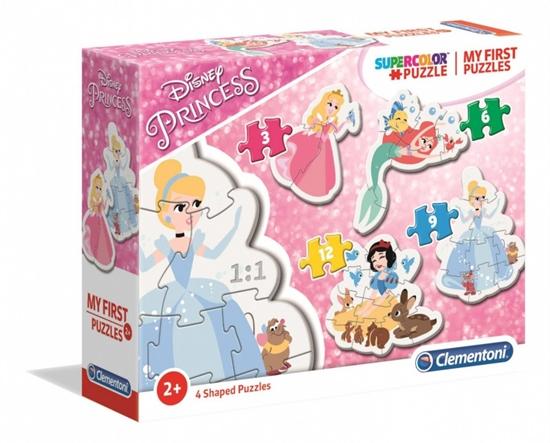 Puzzle Moje pierwsze puzzle Księżniczki Disneya (GXP-702056)