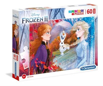 Puzzle 60 elementów Maxi Super Kolor Kraina lodu 2 (GXP-702204)