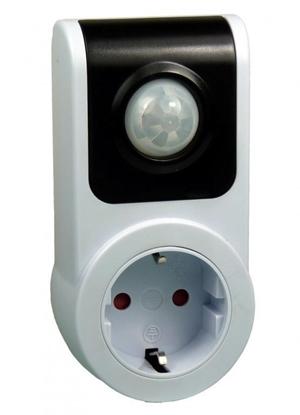 EcoSavers PIR Sensor Socket - czujnik ruchu do gniazdka elektrycznego