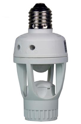 EcoSavers PIR Sensor Lampbase - czujnik ruchu do żarówek E27