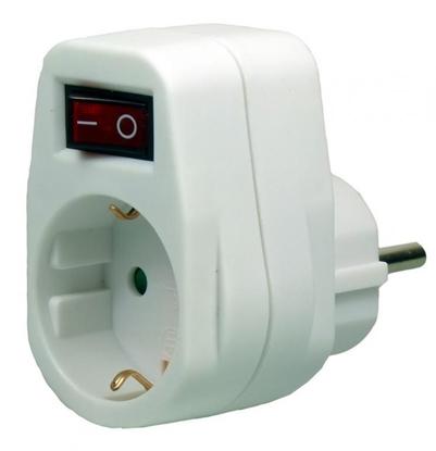 EcoSavers Socket Switch Single - pojedyncze gniazdo elektryczne z wyłącznikiem