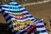 Ręcznik plażowy SUMMER IN MIND bawełna egipska
