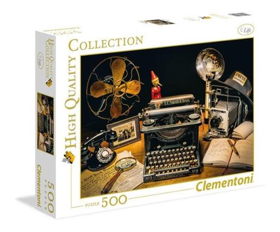 Clementoni Puzzle 500el HQC The Typewriter 35040 (35040 CLEMENTONI)