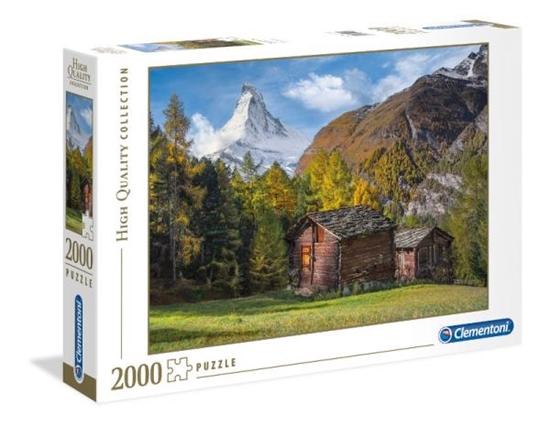 Clementoni Puzzle 2000el. Fascination with Matterhorn (GXP-648246)
