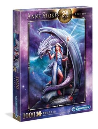 Clementoni Puzzle 1000el Anne Stokes collection Dragon 39525 (39525 CLEMENTONI)