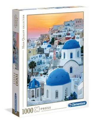 Clementoni Puzzle 1000el HQ Santorini 39480 p6 (39480 CLEMENTONI)