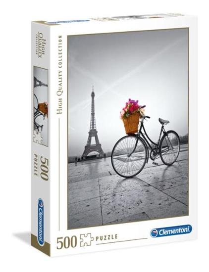 Clementoni Puzzle 500el Romantic Promenade in Paris 35014 (35014 CLEMENTONI)