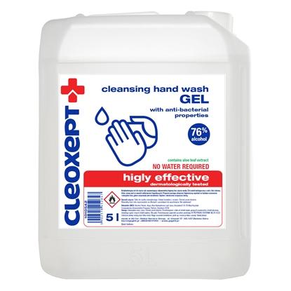 Żel antybakteryjny do dezynfekcji odkażania rąk CLEOXEPT- 5L