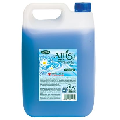 Antybakteryjne mydło w płynie do rąk z gliceryną ATTIS 5L