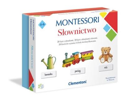 Clementoni Montessori Słownictwo (50077 CLEMENTONI)
