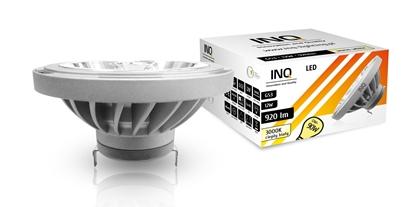LAMPA LED  AR111  G53 12W 830  12V 40^  920lm szary INQ