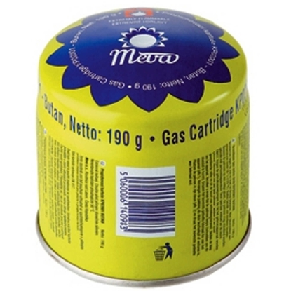 Kartusz wkład nabój gazowy do kuchenki palnika na gaz - nakłuwany 190g