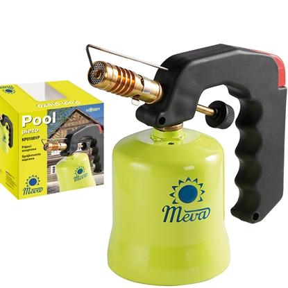Palnik gazowy lampa lutownicza gazowa POOL z piezo zapalnikiem