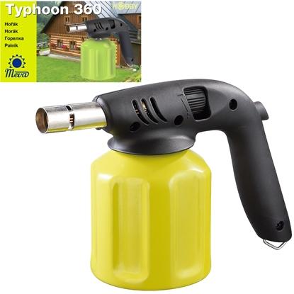 Palnik gazowy lampa lutownicza na gaz TYPHOON 360 z piezo zapalnikiem