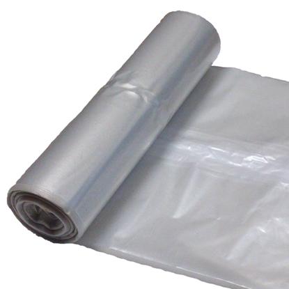 Worki na odpadki śmieci grube 50 mikr. wytrzymałe rolka 25szt. - przeźroczyste 120L