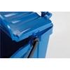 Kosz pojemnik do segregacji sortowania śmieci URBA PLUS 40L - niebieski