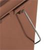 Kosz pojemnik do segregacji sortowania śmieci i BIO odpadków - brązowy 10L