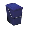 Kosz pojemnik do segregacji sortowania śmieci i odpadków - niebieski 10L