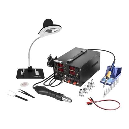 Profesjonalna stacja lutownicza Hot Air zasilacz laboratoryjny S-LS-1