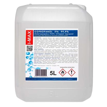 Alkohol izopropylowy Izopropanol IPA I-MAX 99,9% 5L