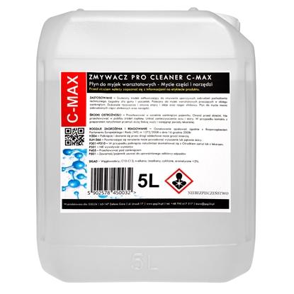 Płyn zmywacz do części i narzędzi do myjki warsztatowej PRO CLEANER C-MAX 5L