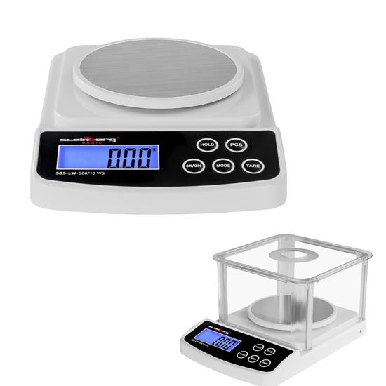 Waga precyzyjna laboratoryjna SBS-LW-500/10 WS do 500g / 0,01g