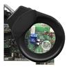 Lampka biurkowa LED bezcieniowa ze szkłem powiększającym 5x/10x i uchwytem na płytki PCB