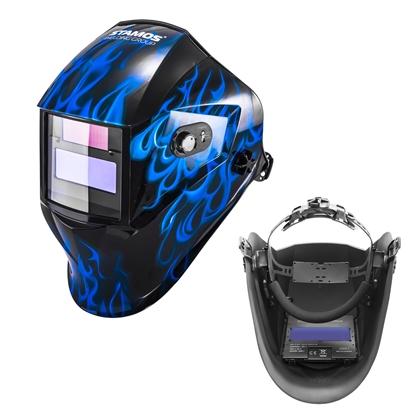 Maska przyłbica spawalnicza automatyczna samościemniająca z funkcją grind SUB ZERO
