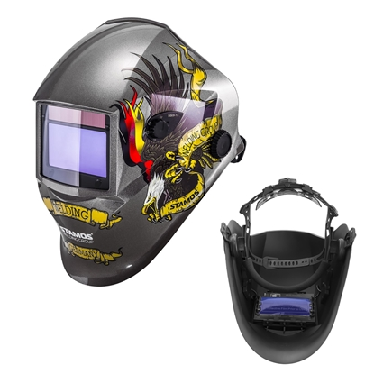 Maska przyłbica spawalnicza automatyczna samościemniająca z funkcją grind EAGLE EYE