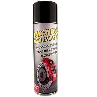 Zmywacz środek do czyszczenia hamulców i układów tarcz hamulcowych Spray 500ml