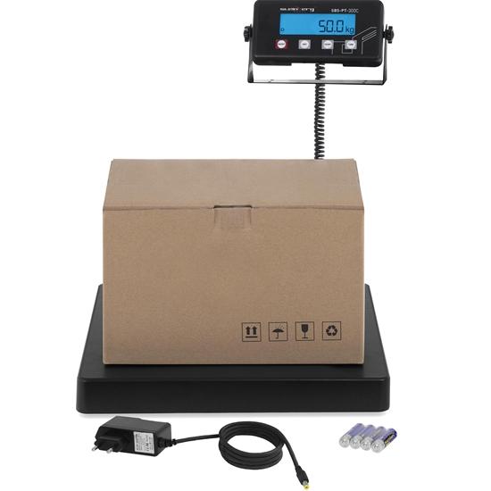 Waga przemysłowa paczkowa pocztowa 300kg / 50g LED Steinberg Systems SBS-PT-300C