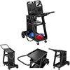Wózek spawalniczy warsztatowy stalowy z 3 półkami nośność do 75kg