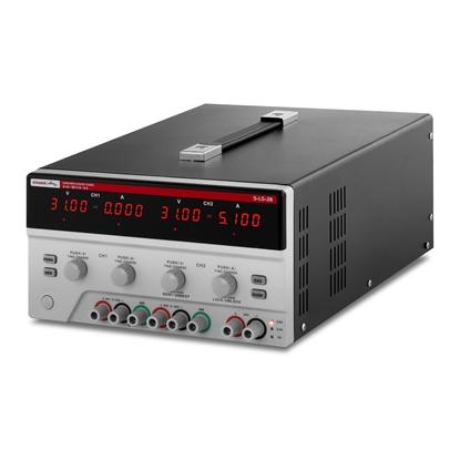 Zasilacz laboratoryjny 3 kanały 0-30VDC 0-5A S-LS-28