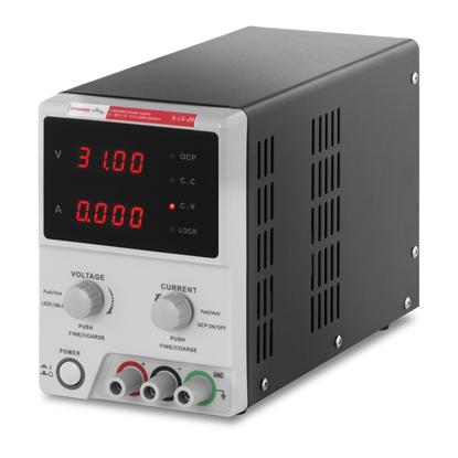 Zasilacz laboratoryjny 0-30VDC 0-5A USB / RS232 + CD S-LS-29