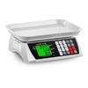 Waga spożywcza sklepowa licząca z pamięcią i funkcją liczenia sztuk SBS-PW-301CA 30kg / 1g