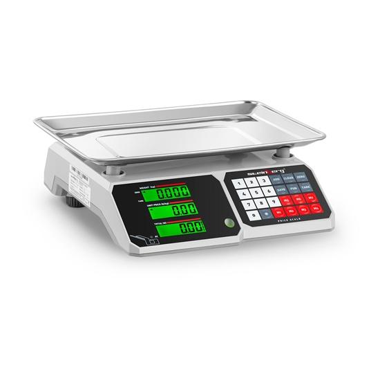 Waga spożywcza sklepowa licząca z pamięcią i funkcją liczenia sztuk SBS-PW-301CB 30kg / 1g
