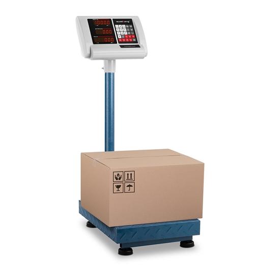 Waga platformowa magazynowa licząca składana 30x40cm zasilacz + akumulator 100kg / 10g