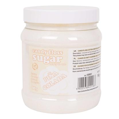 Cukier do waty cukrowej biały o smaku pina colada 1kg