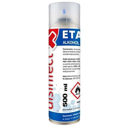 ETANOL - Alkohol etylowy skażony DISINFECT 99% spray 500ml