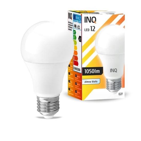 wycofany LAMPA A60 E27 LED 12 BULB 1055lm 6000K INQ