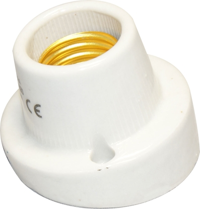 Oprawka E27 porcelanowa natynkowa skośna