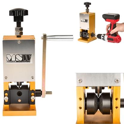 Odizolowywacz korowarka do ściągania izolacji z kabli i przewodów MSW-Wirestripper-006