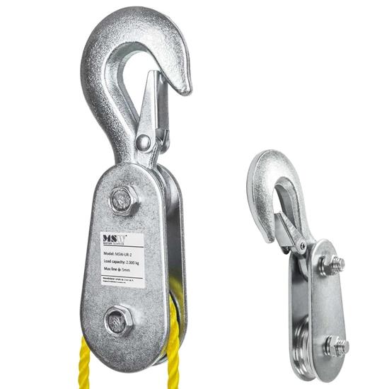 Zblocze bloczek do wciągarki wyciągarki linowej do 2 ton 2T