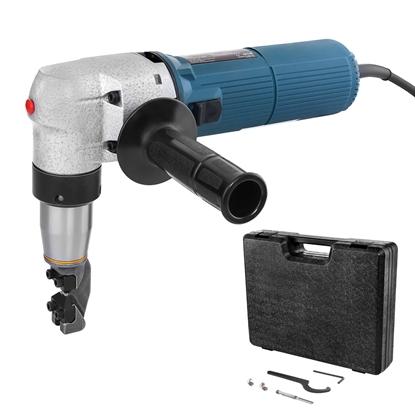 Elektryczne nożyce do blachy falistej i trapezowej MSW BLS-300 do 4 mm