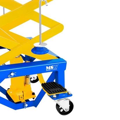 Platforma winda podnośnik motocyklowy mobilny na kółkach do motocykli 135kg MSW MHB-135-PRO